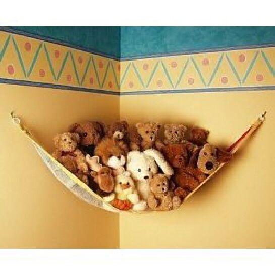 Toy Net Teddy Hammock Stuffed Animal Organizer, Small
