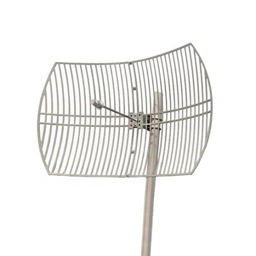 5GHz 5.8Ghz 802.11a ac 30dBi Outdoor Parabolic Grid Antenna N-F Mounting Kit