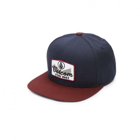 Volcom Crestice Cap Crimson Cappy Schirmütze Snapback Baseball Cap Mütze