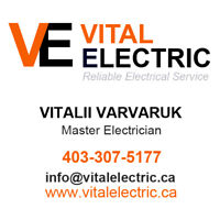 Cost-effective Master Electrician serving Red Deer and Areas!