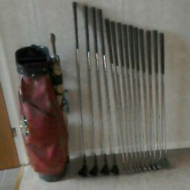 Ryder mk2 clubs full matched set and putter