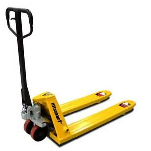 Euro Narrow Hand Pallet Jack/Truck 540mm Wide (Poly Wheel) Springvale Greater Dandenong Preview