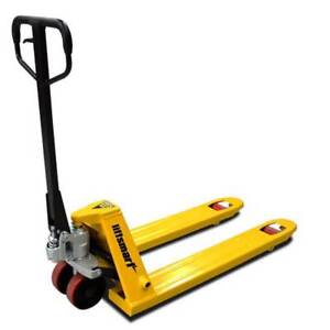 Euro Narrow Hand Pallet Jack/Truck 540mm Wide (Poly Wheel) Acacia Ridge Brisbane South West Preview