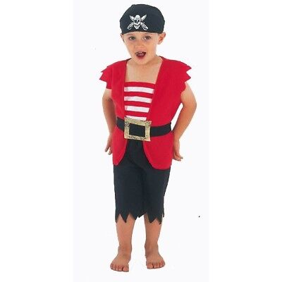 Pirate Boy Fancy Dress Costume Outfit Toddler 3 Years Book Week Bandana Child (Toddler Pirate Outfit)