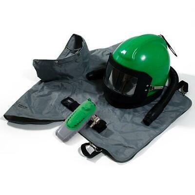 Nova 2000 Blasting Respirator Helmet - Supplied Air Control Device Blast Cape