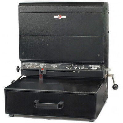 Rhin-o-tuff Onyx Hd7700h Spiral Plastic Coil Comb Wire Punching Machine