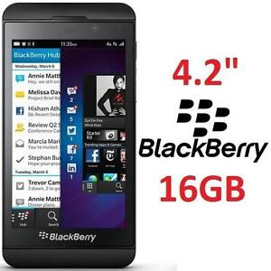 "NEW OB BLACKBERRY Z10 SMARTPHONE BLACK - 16GB 4.2"" DISPLAY - SMART PHONE - CELL PHONE - CELLPHONE - ELECTRONICS"