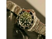 Rolex Submariner No Date Silver With Box, Papers