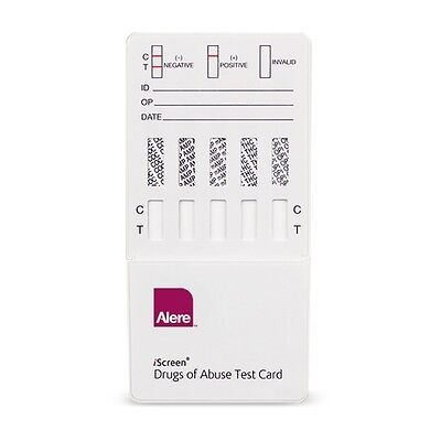 (10) Pack of 5 Panel Drug Test Strips - For 5 Drugs Home & Work - Free Shipping