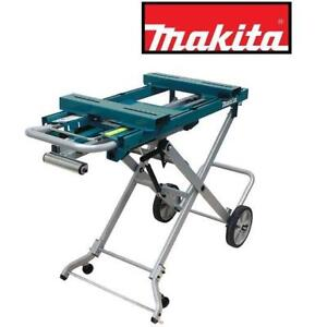"""NEW MAKITA MITER SAW STAND WST05 231664156 46"""" FOLDED 200LB WEIGHT CAPACITY 2 POSITION ADJUSTABLE STAND"""