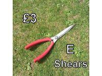 Gardening Tools (H) - Shears