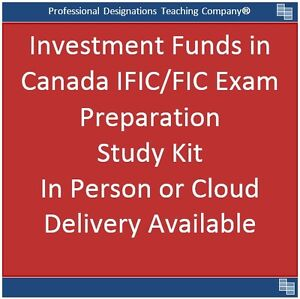 IFIC / IFC 2017 Investment Funds in Canada Study Notes & Practic