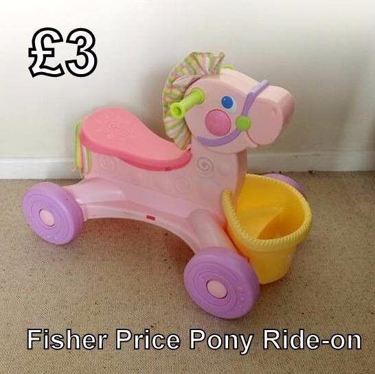 Fisher Price Ride-on Pony