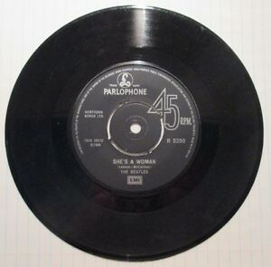 Vintage The Beatles 45 - I feel fine c/w She's a woman West Island Greater Montréal image 4