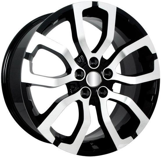 "22"" Oxford Wheels Set for Range Rover HSE Super Charger Land Rover LR3 Rims"