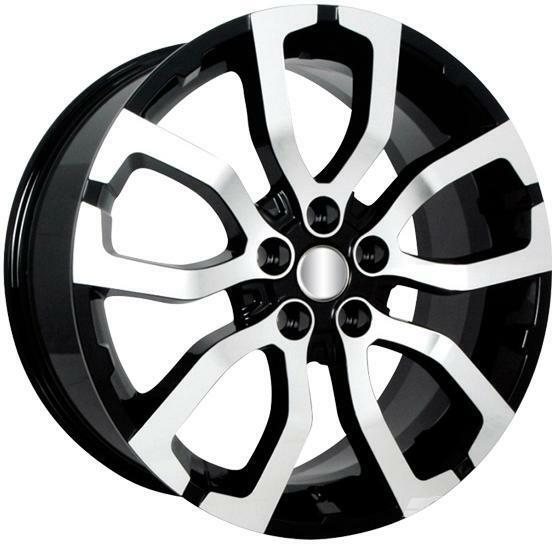 "22"" Oxford Wheels Set for Range Rover HSE Super Charger Land Rover LR3 Rims"