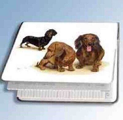 Retired Dog Breed DACHSHUND TRIO Vinyl Softcover Address Book by Robert May for sale  Shipping to Canada