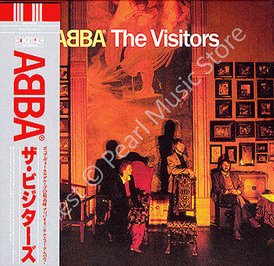ABBA THE VISITORS CD MINI LP OBI + bonus tracks Bjorn Benny Agnetha Anni-Frid