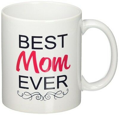 Best Mom Ever Mug, Christmas, Birthday, Mothersday Gift For Moms Coffee Tea (Best Christmas Gifts For New Moms)