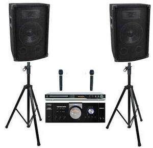 1000 Watt Karaoke Dj System Cdg Player Amplifier