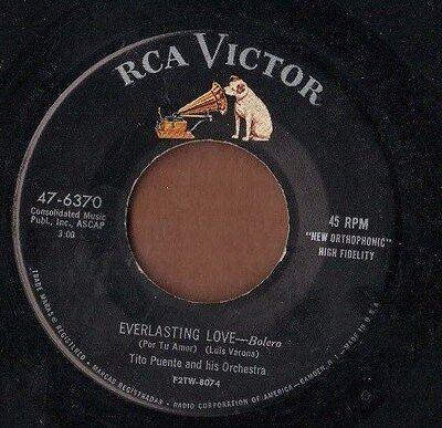 Rca 50S Latin Jazz Mambo 45  Tito Puente   Everlasting Love   Vibe Cha Cha  Nice