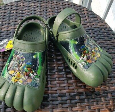 Teenage Mutant Ninja Turtles Water Activity Clog Toddler/Kids' Shoes - Christmas (Teenage Mutant Ninja Turtles Toddler Clothes)