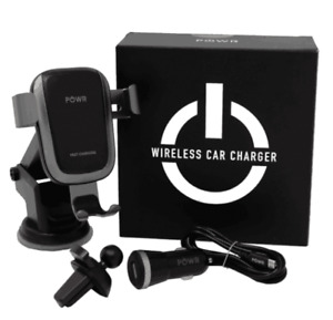 POWR Fast Charge Wireless Car Phone Charger/Mount