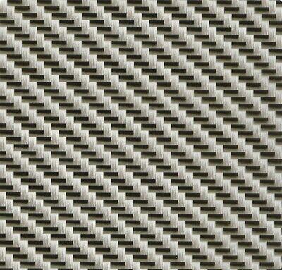 Hydrographics Film Giga Silver Carbon Fiber 20 X 6.5