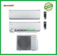 Condizionatore Sharp Dual Split Inverter Smile Curve Ssr 12000+12000 Ae-x2m18tr - sharp - ebay.it