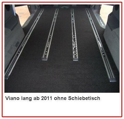 Gastraumteppich Mercedes Viano Trend Ambiente lang 2 Schiebetüren ab BJ 2011 gebraucht kaufen  Egenhausen
