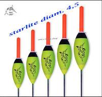 Galleggiante Da Pesca Starlight 4,5 Starlite Con Boccola Porta Starlight Lago -  - ebay.it