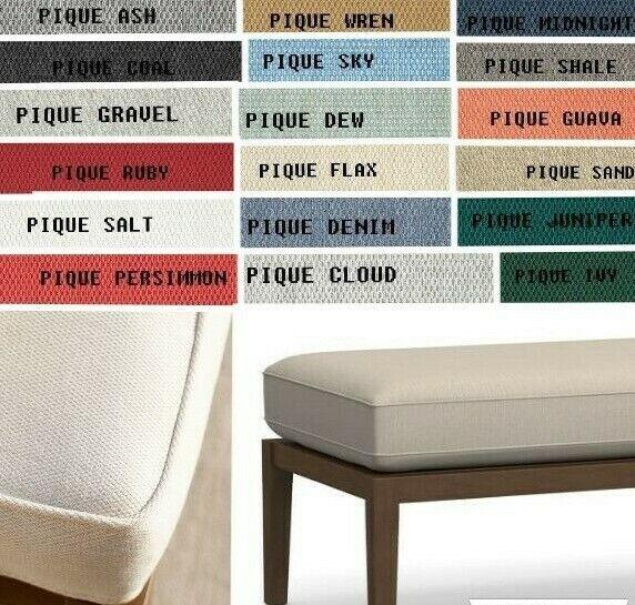 Custom Bench, Window Seat Cushion w/ foam insert, indoor/out