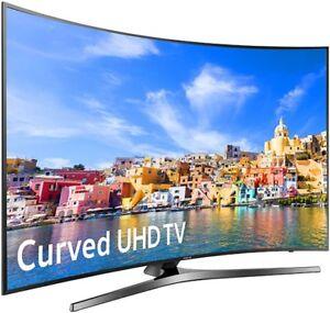 "samsung-curved-55"" LED TV-ULTRA HD 4K-SMART WIFI- IN BOX- $799.9"