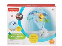 Fisher-price 2in1 projection mobile