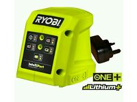 Ryobi One+ Li-ion / NiCd Battery Intelliport Charger 18v / 14.4v BCL14183H