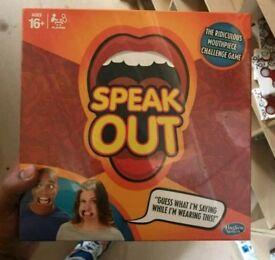New sealed box Speak Out Has broken Gamings