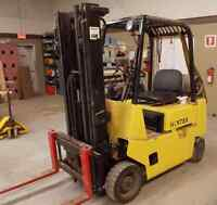 Hyster Certified Forklift with Side-Shift