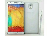 Samsung galaxy note 3 white brand new condition