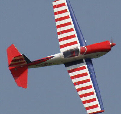 Giant 1/4 Scale Art Scholl's Super Chipmunk Aerobatic Plane Plans, Instructions