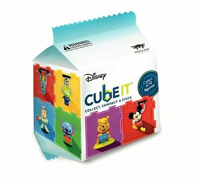 Cube It Disney Random Figure Series 1 Blind Box Toy Mini Figure World Glow