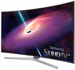 """SAMSUNG 55"""" LED SMART TIZEN 4K CURVED 3D SUHDTV *NEW IN BOX*"""
