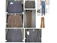 NEW JOB LOT 3... LADIES TROUSERS & SKIRTS 20 ITEMS GRAB A BARGAIN WHOLESALE JOBLOT