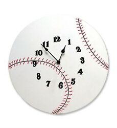 Wall Clock - Baseball