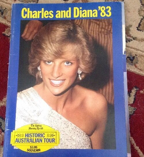 Princess Diana Prince Charles Historic Australia Tour 1983 Book