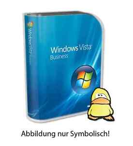 Microsoft Windows Vista Business 32Bit Deutsch Original-Vollversion