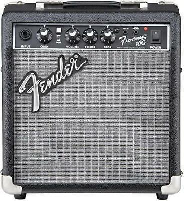 NEW Fender Electric Guitar Amplifier Music Amp Small Portable Black 10-Watt Best