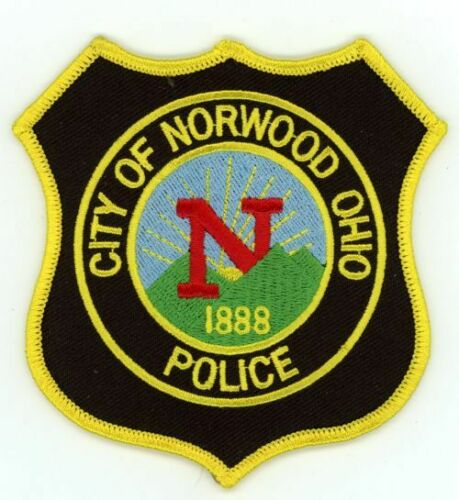 OHIO OH NORWOOD POLICE NEW PATCH SHERIFF