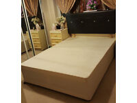 Double Bed(Without Mattress)