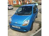 Chevrolet matiz se low milage long not looking for quick sale