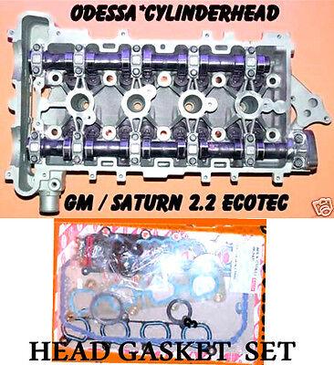 Gm Chevy Cavalier Cobalt 2 2 Dohc Ecotec Cylinder Head   Gasket Set Rebuilt